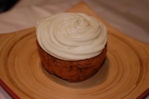 Gluten free / vegan zucchini cupcakes