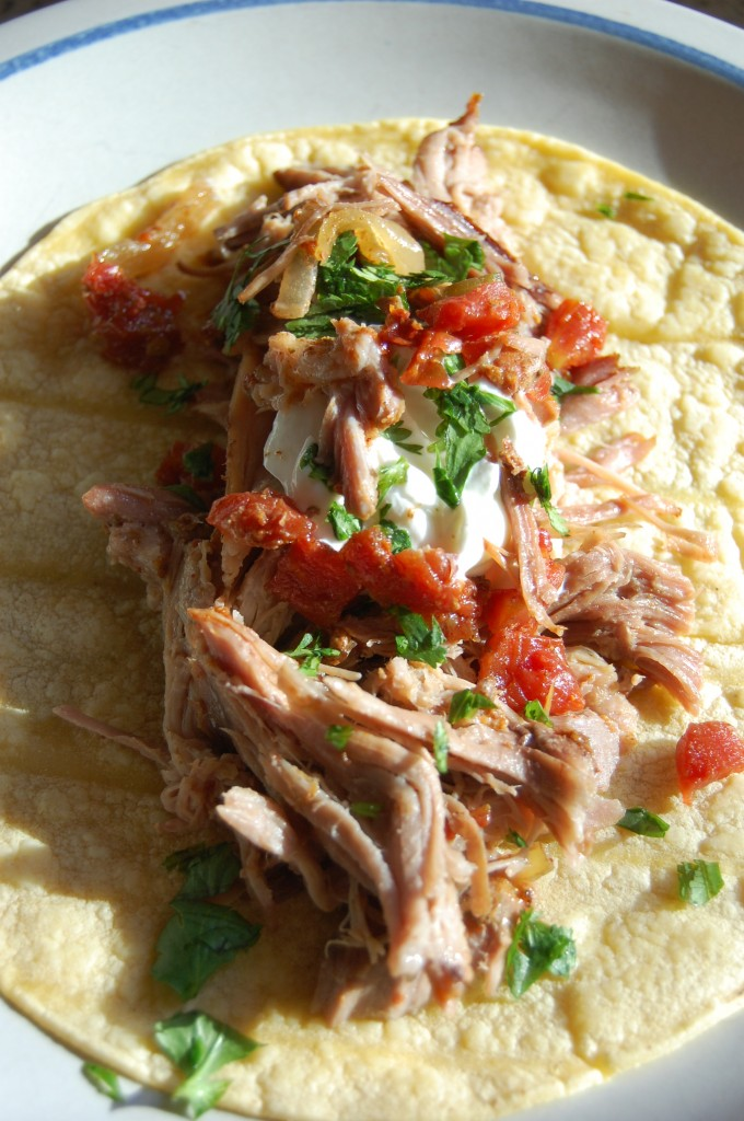 Pork Carnitas Tacos Recipe — Dishmaps