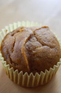 gluten free / vegan pumpkin muffins