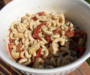 gluten free / vegetarian pasta salad