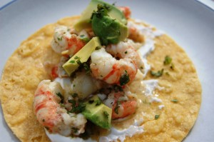 gluten free shrimp tacos
