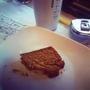 gluten free / vegan pumpkin spice bread
