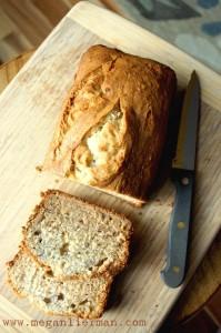gluten free / vegan banana bread