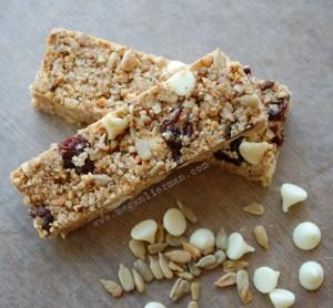 gluten/egg/dairy free granola bars