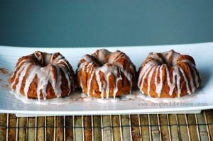 gluten free / vegan pumpkin spice cakes