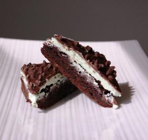gluten / dairy free triple chocolate mint brownies