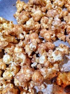 bananas foster popcorn