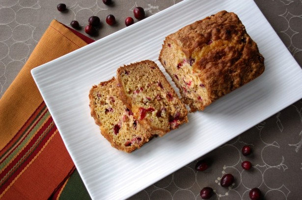 GF Cranberry Bread