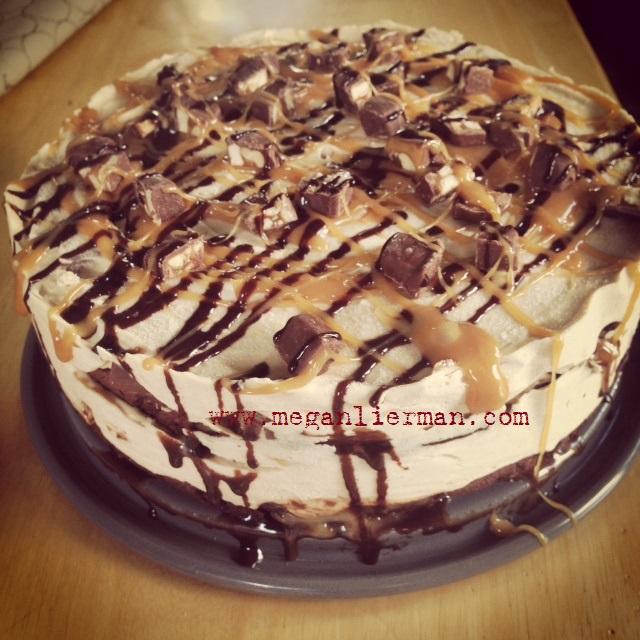 Snicker recipes cake